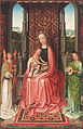 Gerard David, Netherlandish (active Bruges), first documented 1484, died 1523 - Enthroned Virgin and Child, with Angels - Google Art Project.jpg