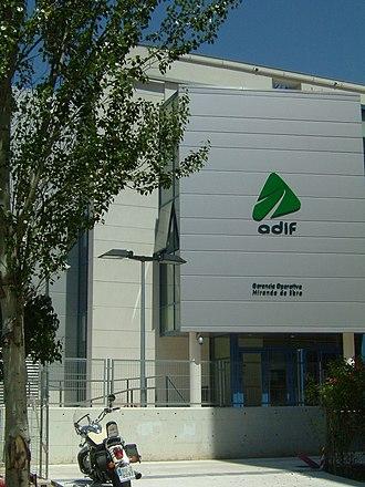 Miranda de Ebro - Railway control center in Miranda de Ebro