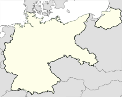 Mühlberg, Germany (pre-war borders, 1937)