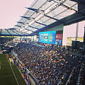 Getting ready to watch some soccer. Manchester City play Sporting Kansas City -soccer -mls (14749274233).jpg