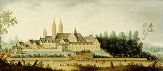 View of the Abbey of Egmond-Binnen
