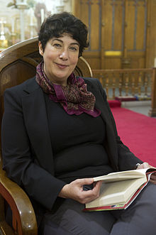 Joanne Harris at King's Chapel during the Gibraltar International Literary Festival in 2013