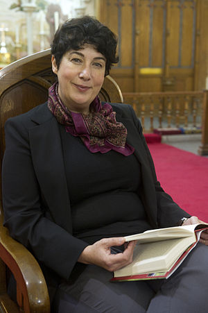 Joanne Harris - Joanne Harris at King's Chapel during the Gibraltar International Literary Festival in 2013
