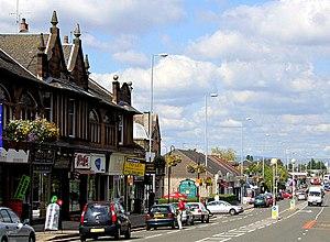 Giffnock - Image: Giffnock, East Renfrewshire. geograph.org.uk 429703