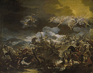 Battle of Mount Tabor (biblical) - Luca Giordano, The Defeat of Sisera, c. 1692.