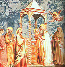 Giotto - Scrovegni - -19- - Presentation at the Temple.jpg
