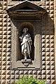 Giovanni b. caccini, statua di sant'alessio sulla facciata di s. trinita, 1594, 01.JPG