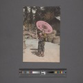 Girl with parasol carrying infant on back (NYPL Hades-2360308-4044107).tiff