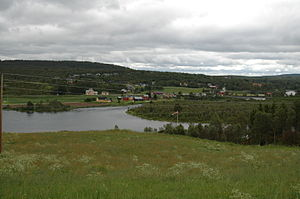 Glåmos - View of the village