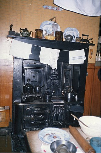 Tenement House (Glasgow) - Image: Glasgow Tenement House stove