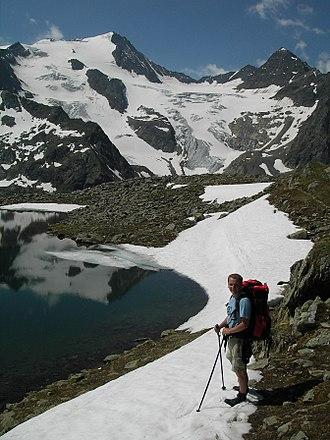Stubai Alps - Glacier on the Wilder Freiger