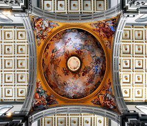 Vincenzo Meucci - Fresco at San Lorenzo, Florence
