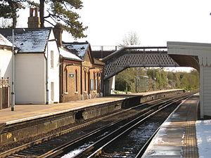 Glynde - Glynde railway station