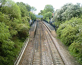 Goldthorpe railway station Railway station in South Yorkshire, England