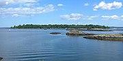 Goose Island fr east Glen Is jeh