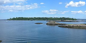 New Rochelle, New York - Islands along New Rochelle's waterfront