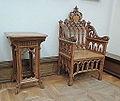 Gothic revival furniture 03 (Tretyakov gallery) by shakko.JPG