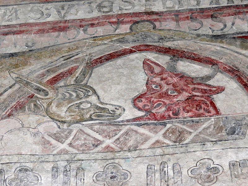 File:Gotland-Gothem kyrka Wandmalerei 01.jpg