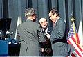 Governor Wayne Mixson transferring Seal of the State to Governor-elect Bob Martinez.jpg