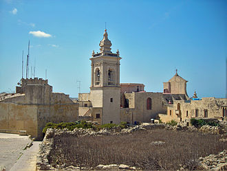 Roman Catholic Diocese of Gozo - Exterior of the Gozo Cathedral
