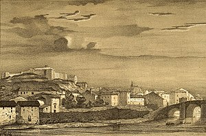 Miranda de Ebro - Miranda de Ebro in 1846