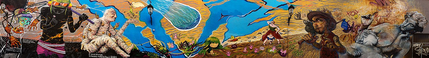 Mural de la Botja