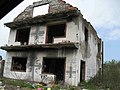 Graffiti on destroyed house in Brod, RS.jpg