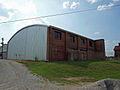 Gragg Field historic hangar July 2011 1.jpg