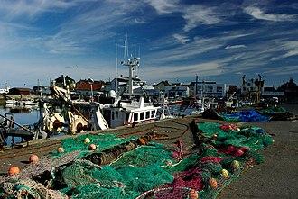 Canton of Trévières - Fishing port of Grandcamp-Maisy