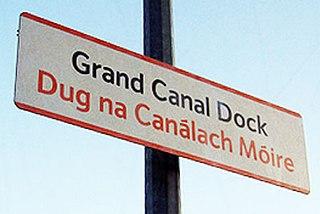 Grand Canal Dock railway station