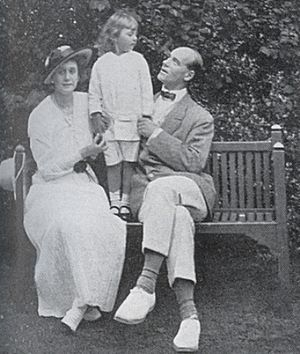 Natalia Brasova - Natalia and Grand Duke Michael Alexandrovich with their son