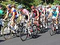 Grand Prix Cycliste de Montréal 2011, Laurens TenDam, Oscar Pujol, Alessandro Ballan (6142379258).jpg