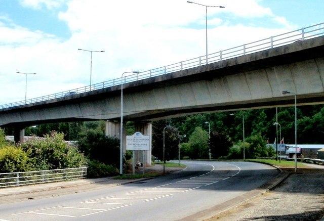 Grangetown Viaduct over Penarth Road, Cardiff