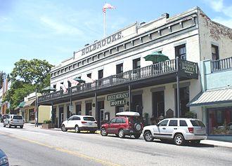 California Historical Landmarks in Nevada County - Image: Grass Valley CA Hotel