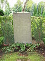 Grave of hans larsson lund sweden 2008.JPG