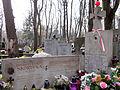 """Graves of fr Ignacy Skorupka and Kazimierz """"Dziad"""" Skorupka at Powązki Cemetery - 01.jpg"""