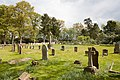 Graveyard of St Paul's Church, Bisterne - geograph.org.uk - 1854143.jpg