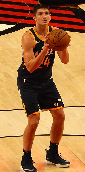 Grayson Allen - Allen with the Utah Jazz in 2018