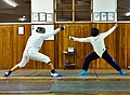 Greek Epee Fencers. Alexandros Kanellis (left).jpg