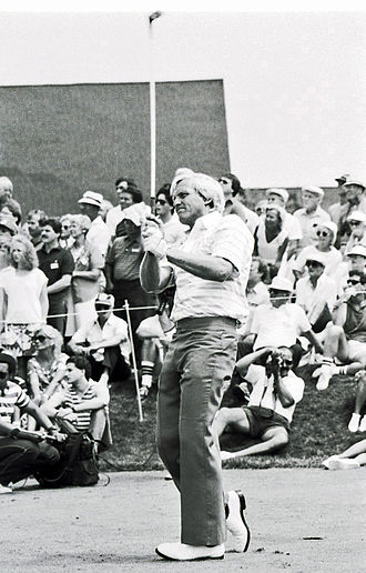 Greg Norman - Norman in 1986