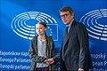 Greta Thunberg urges MEPs to show climate leadership (49618572167).jpg