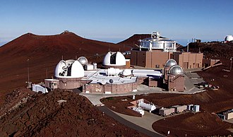 United States Space Surveillance Network - GEODSS atop the Haleakala crater