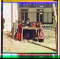 Group of Jewish children with a teacher. Samarkand LOC 9631439840.jpg