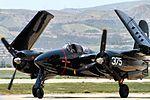 Grumman F7F Tigercat - Chino Airshow 2014 (14152243759).jpg