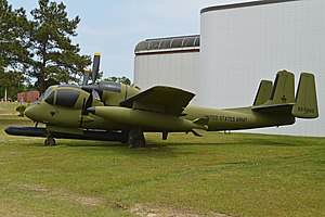 Grumman OV-1 Mohawk - OV-1B Side Looking radAR variant
