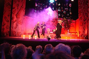 Dillie Keane - Keane with Jenny Eclair and Linda Robson in the final performance of Grumpy Old Women Live