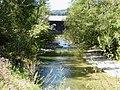 Gschwendmühlbrücke über die Weißach Vbg unweit Aach, von Osten.jpg