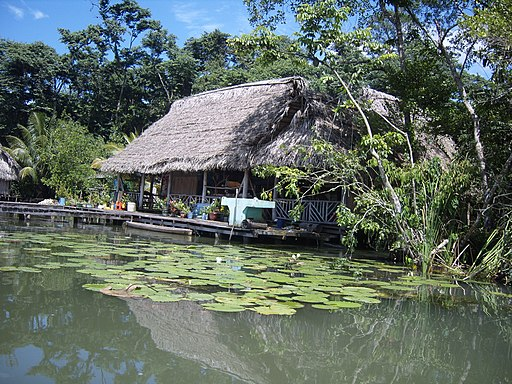 Guatemala Rio Dulce hut places to visit in Guatemala