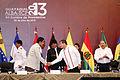 Guayaquil, Inauguración de XII Cumbre de Presidentes ALBA - TCP a cargo del señor Presidente de la República del Ecuador, Rafael Correa Delgado (9401351779).jpg