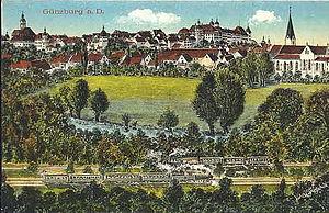 Günzburg - Günzburg in about 1918.